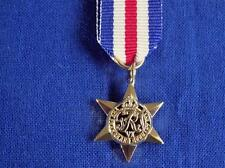 FRANCE AND GERMANY STAR 1944 TO 1945 MINIATURE MEDAL