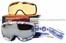 NEW Spy Bias Goggles-China Doll-Bronze Silver Chrome-SAME DAY SHIPPING!
