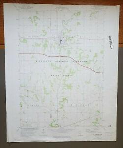 "St. Charles, Minnesota Original Vintage 1974 USGS Topo Map 27"" x 22"""