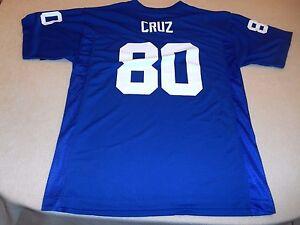 BOYS SIZE XL 18/20 NFL NEW YORK GIANTS VICTOR CRUZ #80 JERSEY NWT
