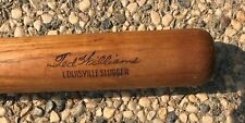TED WILLIAMS LOUISVILLE SLUGGER 125K BASEBALL BAT  NICE