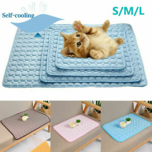 New UK Gel Puppy Mat Cat Dog Pet Summer Comfortable Cushion Cold Pad for Cooling