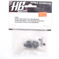 RC HPI Racing HB Hot Bodies D8T Wheel Hex (2) 67804