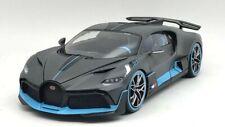 Bburago Bugatti Divo 2018 Echelle 1:18 Voiture Miniature - Grise/Bleue