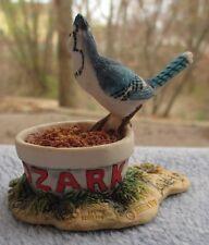 "Schmid Border Fine Arts ""Ozark's Vittles� Blue Jay Hand Made Scotland"