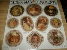 Lot 10 Doll Christmas PHOTOGRAPHS Ornaments victorian Nostalgic La Belle Epoque
