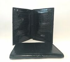 Cobra Snake Leather Handmade New Bifold Men Wallet Cardholder Business Black AU