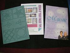 Keepsake Glitter Girls MAJESTIC IMPRESSIONS Embossing Board + IDEAS PROJECT BOOK