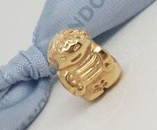 Authentic Pandora 14ct Gold 14K  Little Boy Charm 750468
