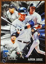 2017 Topps Series 1 AARON JUDGE RC 10 X14 POSTER PRINT 5-Tool Insert Serial #/99