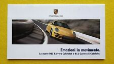 Porsche 911 Carrera Cabriolet S car brochure catalogue December 2004 MINT P