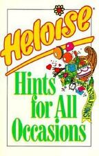 Heloise Hints for All Occasions by Heloise (1995, Paperback) EE369