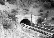PHOTO  WESTERN PORTAL OF BARRY ISLAND TUNNEL IN 1976