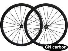 38mm tubular carbon road bike wheels  23mm,25mm width Novatec hub+aero 494