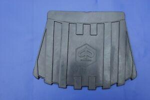 VESPA Piaggio Rubber Retro Mud Flap Black GS GL VBB