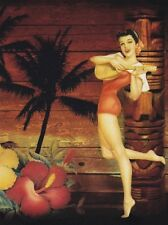 """*Postcard-""""The Girl w/Banjo..standing on Toes""""    ...Classic-"""