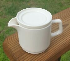 ARCOPAL France restaurant creamer milk cup with lid