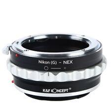 K&F Concept Nikon G AF-S F AIS AI Lens to Sony E-mount NEX Camera Lens Adapter