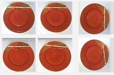 6 ASSIETTES de ANNE MARIE BERETTA modèle [L'assiette brisée] HAVILAND LIMOGES