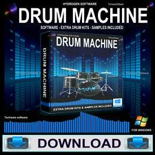 Digital Drum Machine Software Audio/Music Mixer,Multi-Track,Sequencer *DOWNLOAD*