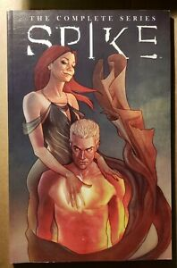 Spike: The Complete Series, IDW, TPB, Very Rare, Angel, Buffy, 5th Print