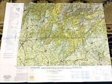 Slovakia Military Map Ground Aircraft Chart USAF RAF Air Force Banská Bystrica