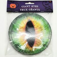 """Giant 6"""" Monster Eyes Halloween Prop Party Decor Spider Cat Snake Spider NEW"""
