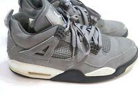 2004 Mens Air Jordan Retro 4 Cool Grey Size 10