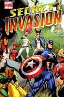 SECRET INVASION #1 2ND PRINT VARIANT 2008 MARVEL COMICS NM