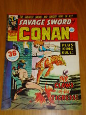 CONAN SAVAGE SWORD #5 BRITISH WEEKLY 1975 APRIL 5TH