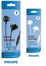 Philips TAUE101 Wired Headphones Earbuds with Microphone with Bass Clear Sound