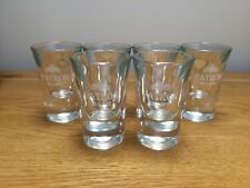 NEW Patron Tequila Set of 6 x Shot Glasses Collectible Drinks Shots XO Cafe