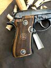 Beretta F81 81FS 81BB 81F F84 Walnut Grips Handmade. US Based Seller. Checkered