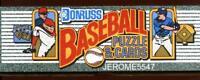 1990 DONRUSS BASEBALL Factory Sealed 716 CARD SET - SOSA - #LocBl_#AAL