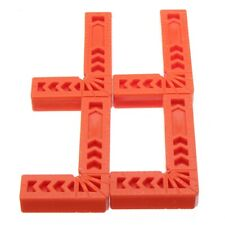 4Pcs 4 Inch 90 Degrees Right Angle Clamps Corner Clamp Ruler Clamping Squar P5F4