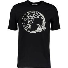 NWT Versace V800602S VD9042 Black V00 Mens T-Shirt Black Sz XXL