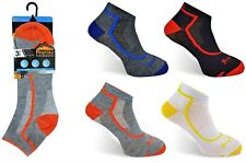 5 PAIRS MENS TRAINER SOCKS RUNNING SPORTS GYM WALKING WORK CYCLING SIZE 6 - 11