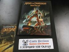 Army of Darkness Role Playing Game 2004 Hardback Full Color Interior.
