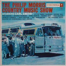 PHILIP MORRIS Country Music Show: Carl Smith COLUMBIA 6-EYE Vinyl LP NM- Super!