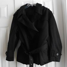 NWOT Neil Barrett for Herno, Short Black Jacket w/ Lining & Pockets, Italy, US L
