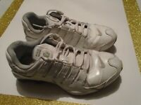 Pre-owned Nike NZ Shox Big Kids Size 7Y Shoes White Leather 317929-106