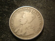 1915 VG  Canada Twenty Five Cents Decent Coin
