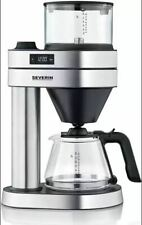 SEVERIN KA 5760 Caprice Kaffeemaschine Edelstahl gebürstet/Schwarz