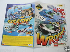 LEGO BROCHURE FLYER CATALOG TOYS 1999 SPLASH DUTCH 4 PAGES 099