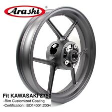 for Kawasaki Z750 2007 2008 Z 750 Front Wheel Rim Ninja Zx10r Zx-6r Black Rims