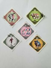 Mongolia - 1961, Sports lot of 5 stamps, hinged, cancelled