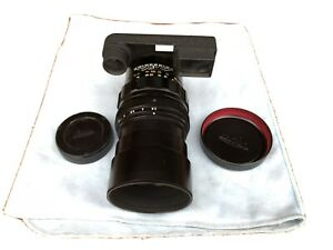 Leica 135mm F2.8 Elmarit Leitz Canada w/ Goggles UK Seller. VGC