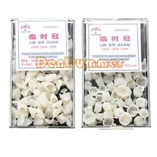 2 boxes Dental Temporary Crown Material F Anterior Front& Molar Teeth 22#23#24#