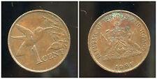 TRINIDAD ET TOBAGO    1  cent  1981   ANM
