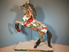 TRAIL OF PAINTED PONIES-Song Of The Cardinal Horse Figurine-Christmas 2016-New